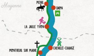 Velo Francette Mayenne Maine Et Loire Chemin Halage Cheval Equestre Haras Lion Dangers Hebergement