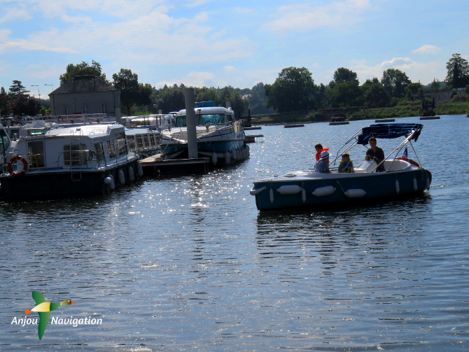 bateau électrique sans permis journée sarthe