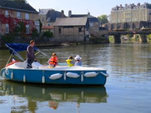 bateau électrique journée sans permis sarthe