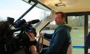Interview pour France 5