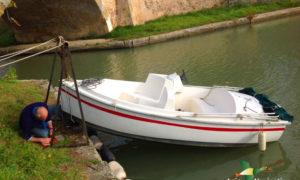 bateau électrique balalde anjou picnic peche sortie